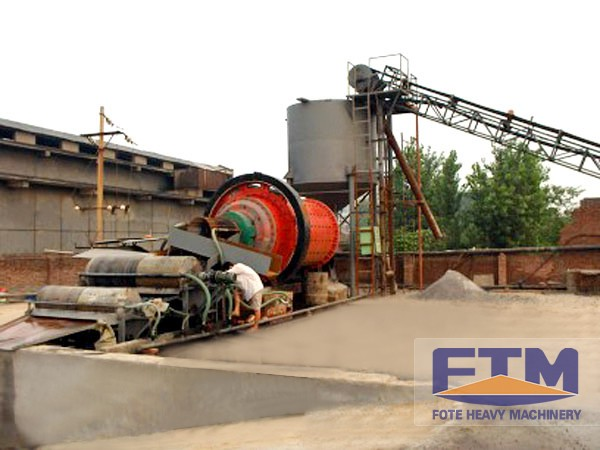 copper ore concentration plant