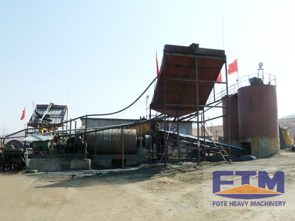 Copper Ore Dressing Process Flow